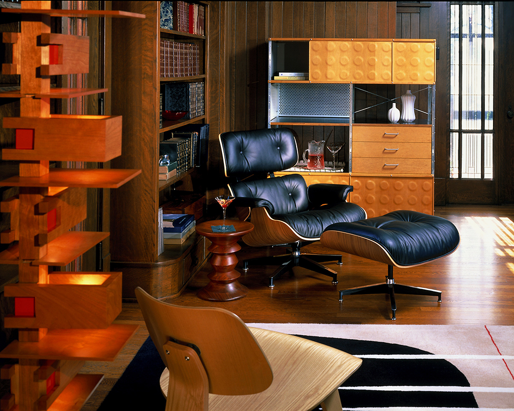 The eames lounge chair and ottoman modern home victoria magazine