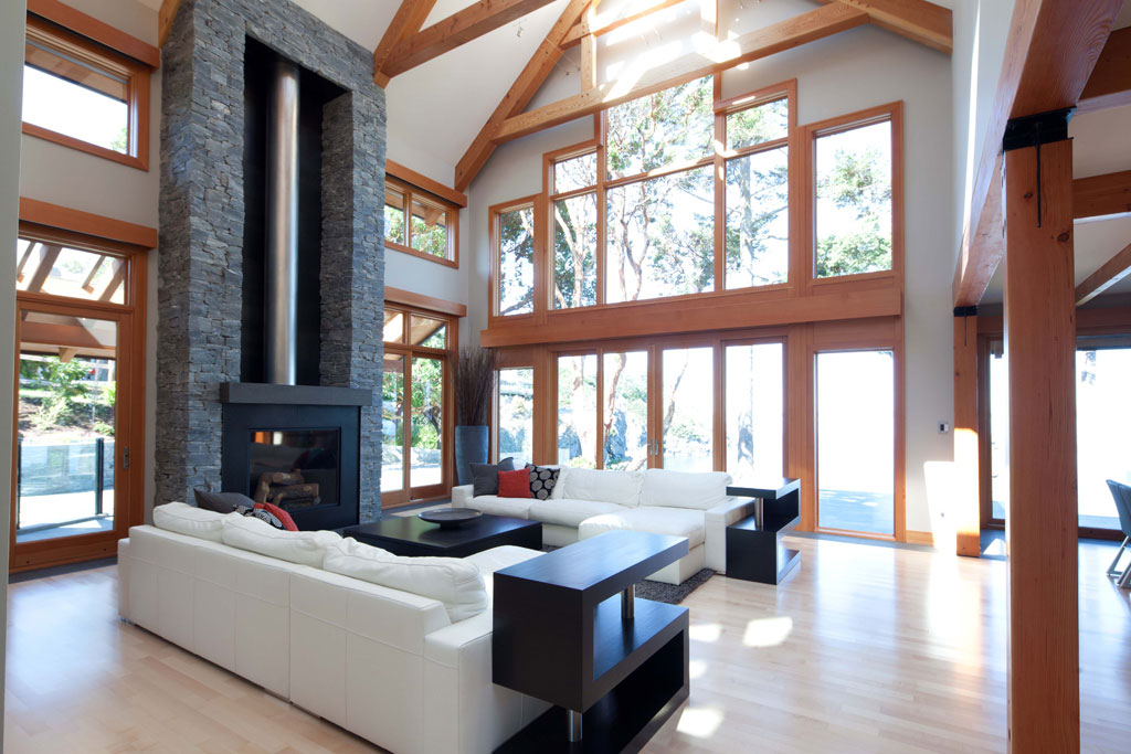 West coast contemporary home modern home victoria - What is a contemporary home ...