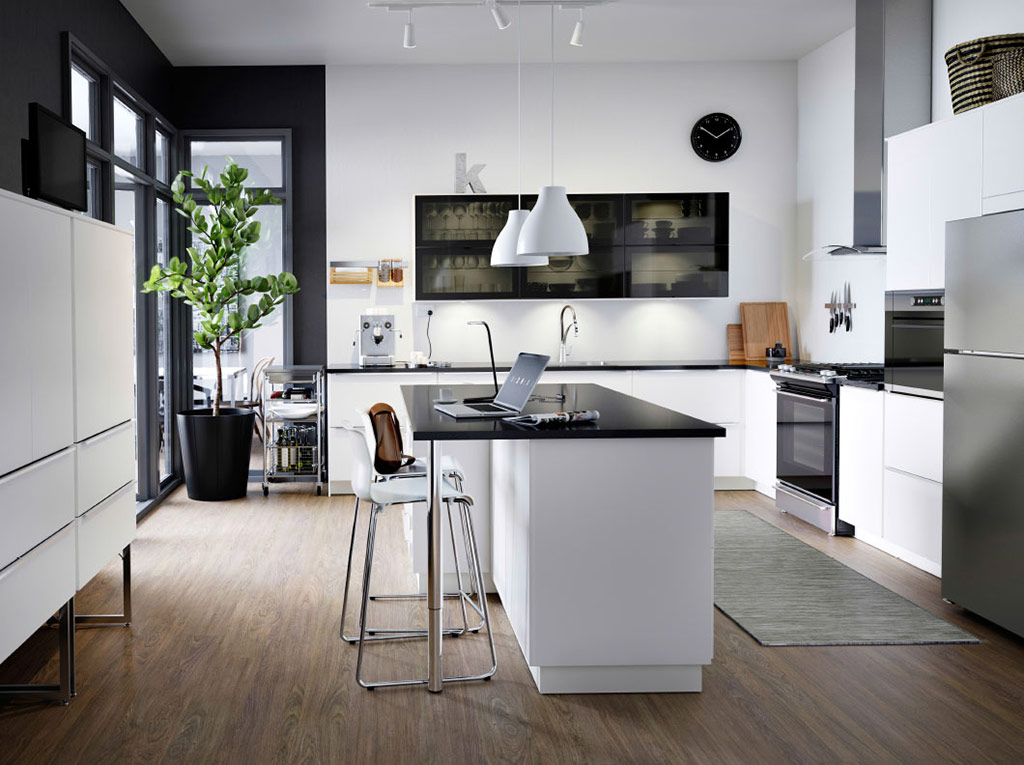 Sektion Ikan Installations Brings New Ikea Kitchens