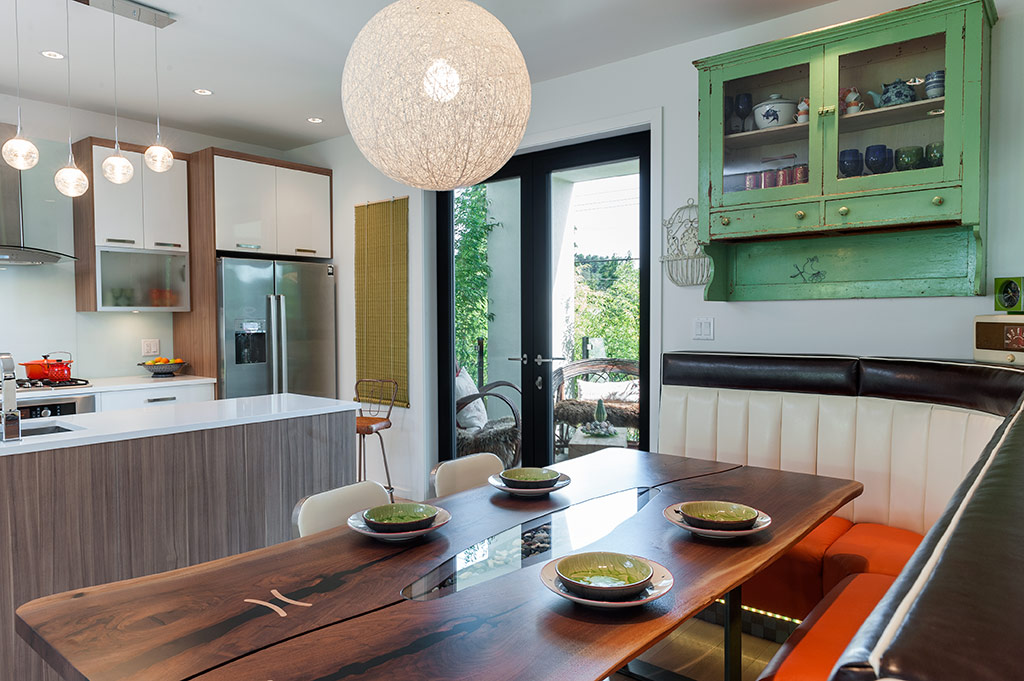 Custom Banquette Seating Rethinks The Open Plan Kitchen