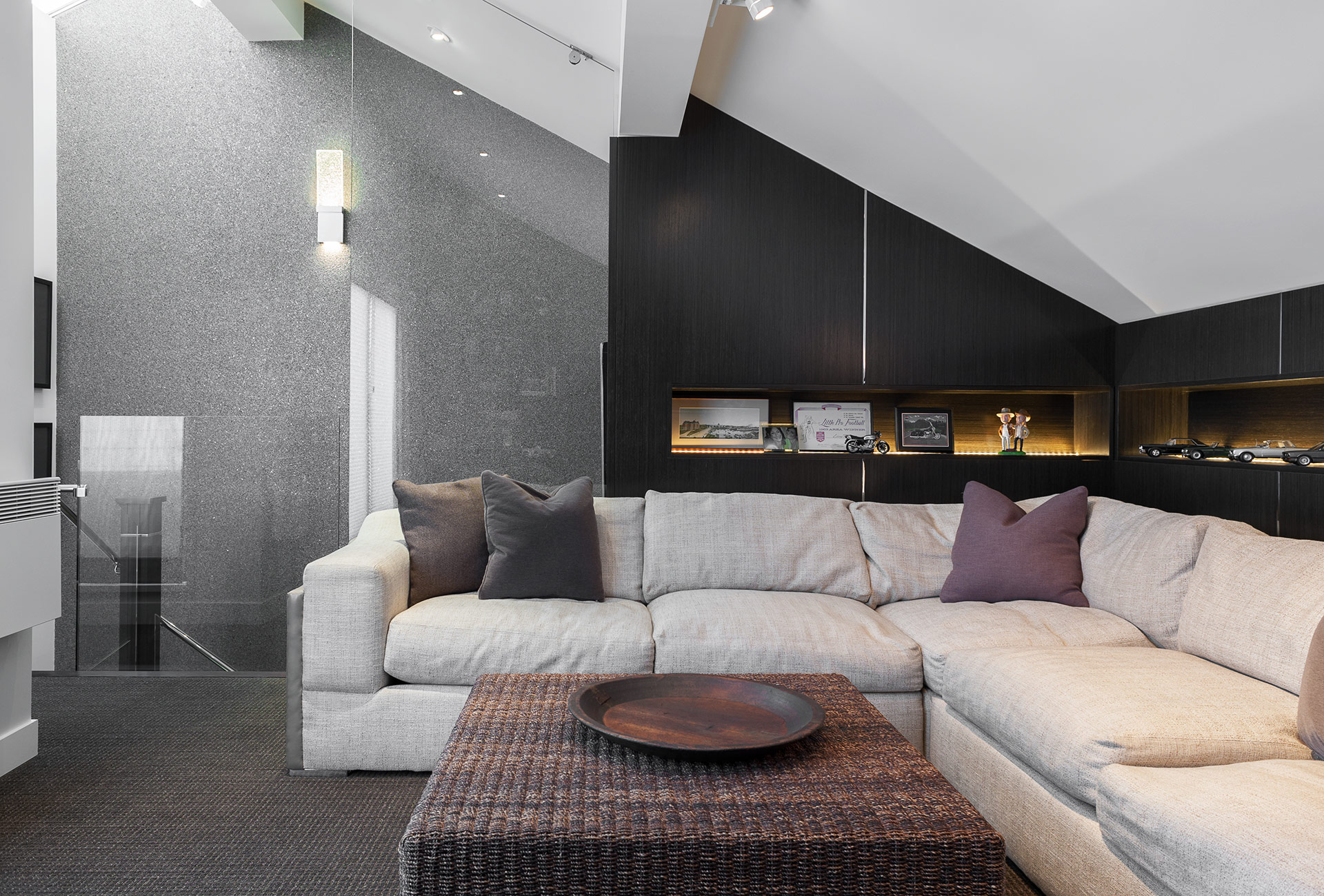 Man Cave Victoria : S townhouse gets a chic makeover modern home