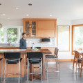 Nautical Family Embraces Natural Materials in Kitchen Design